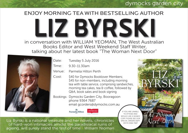 Launchevent Dymocks 2016